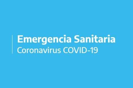 Emergencia Sanitaria en el distrito. Aislamiento decretado por el gobierno nacional