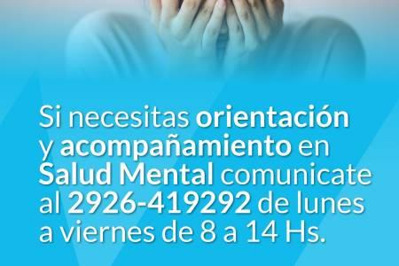 Asistencia en salud mental durante el aislamiento