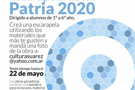 """El Municipio lanza el concurso la """"Escarapela de mi Patria 2020"""""""