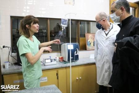 El Hospital Municipal recibió dos respiradores y demás equipamiento del Ministerio de Salud de Provincia