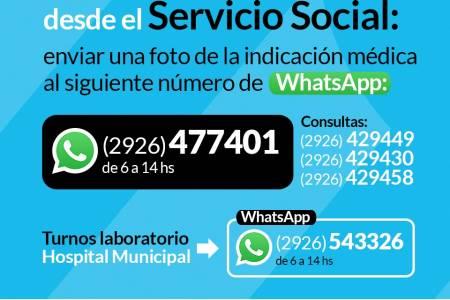 Servicio Social del Hospital Municipal: autorizaciones de prestaciones y prácticas