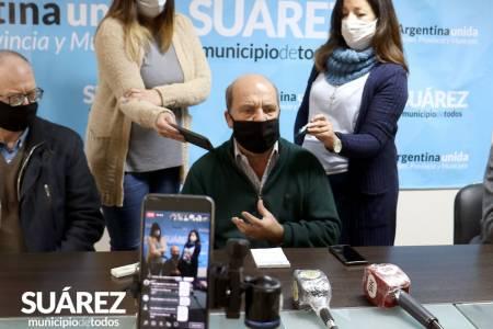 Conferencia de prensa - Confirman dos casos de COVID-19 en Coronel Suárez