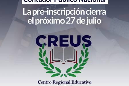 CREUS: Esta abierta la pre-inscripción para la carrera de Contador Público Nacional