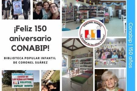 Día de las bibliotecas populares - 150 años de la CONABIP