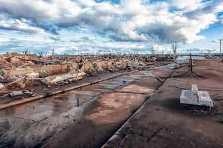 Villa Epecuén, 35 años después de que el agua se llevara todo