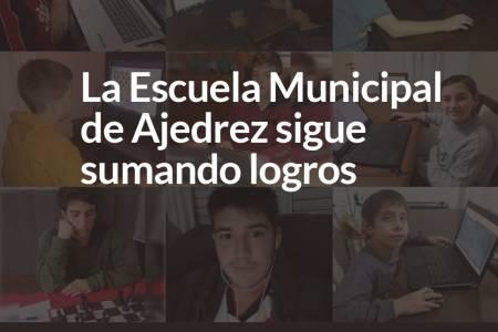 La Escuela Municipal de Ajedrez sigue sumando logros