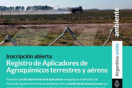 Registro Municipal de Aplicadores de Agroquimicos