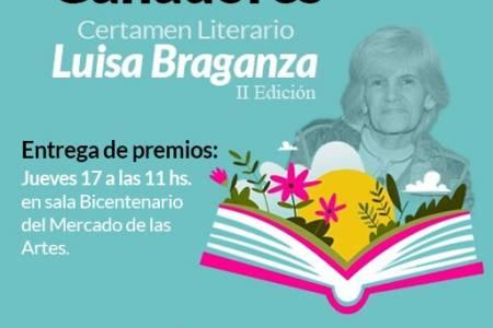 """Ganadores del 2° certamen de Cuento premio """"Luisa Braganza"""""""