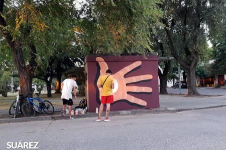 ARTE CALLEJERO: ESPECTACULAR MURAL DE NACHO DÍAZ