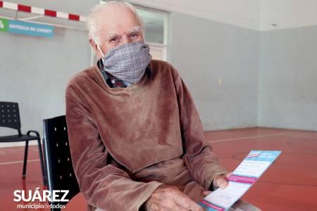 Vacunate Suárez: más dosis de vacunas contra COVID-19