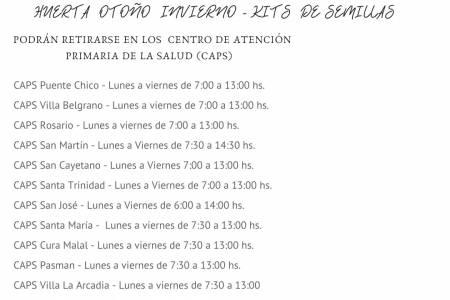 INTA CORONEL SUÁREZ - A partir de esta semana se estarán distribuyendo las semillas de otoño-invierno