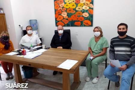 Enfermería: reunión con autoridades del Instituto de Formación Docente y Técnica N° 48