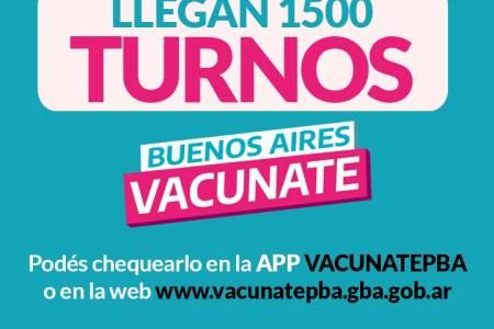 ¡Corramos la voz! #VacunatePBA sigue y sigue sin parar!