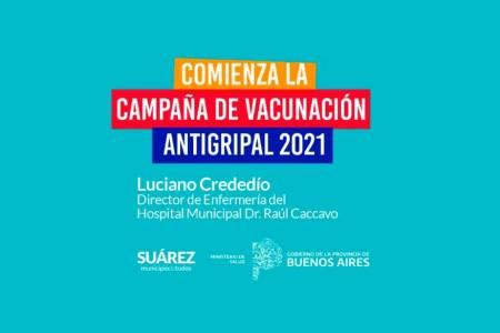 Comenzó la Campaña de Vacunación Antigripal en Coronel Suárez