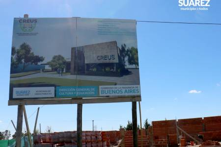 Avanza a buen ritmo la construcción del edificio de CREUS