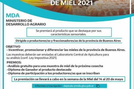 Concurso Provincial de Miel 2021