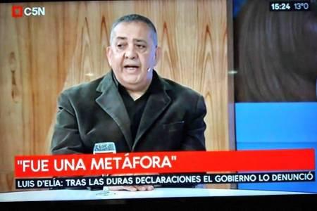 El ministerio de Seguridad denunció a Luis D'Elía por pedir fusilar al Presidente