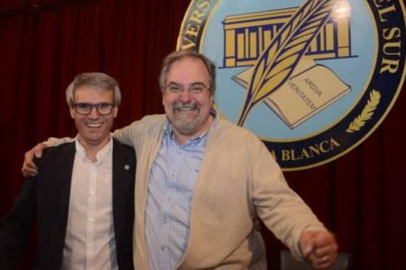 Un suarense, Daniel Vega, es el nuevo rector de la Universidad del Sur