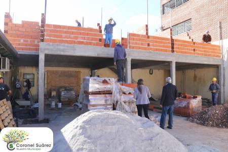 Avanza la construcción del shockroom en el Hospital Municipal