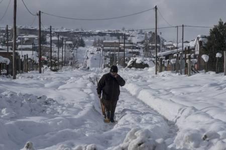 Las imágenes que dejó la nevada en Bariloche