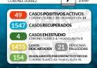 Situación de COVID-19 en Coronel Suárez - Parte 239 - 7/12/2020 23:00