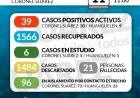 Situación de COVID-19 en Coronel Suárez - Parte 242 - 11/12/2020 11:00